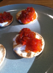 pepper relish cracker